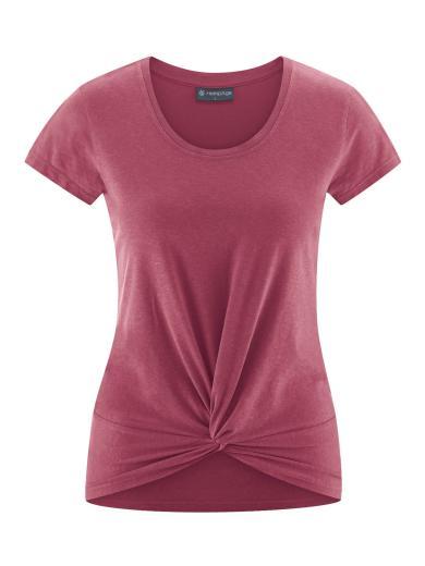 HempAge Yoga T-Shirt tinto