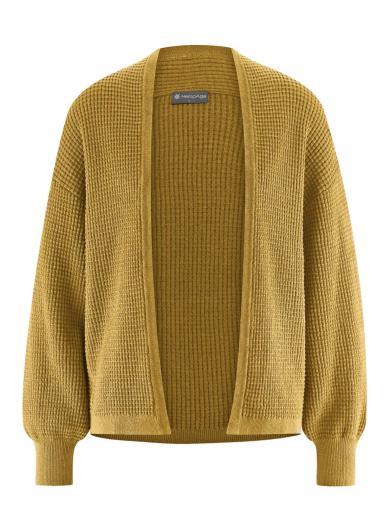 HempAge Jacket Knit peanut