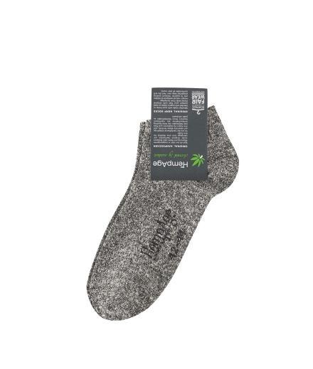 HempAge Sneaker Socks Melange