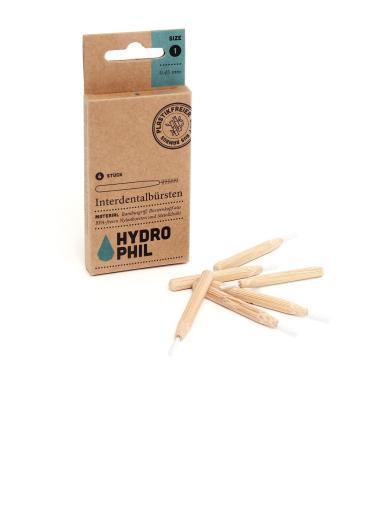 HYDROPHIL Nachhaltige Interdentalbürsten aus Bambus 045
