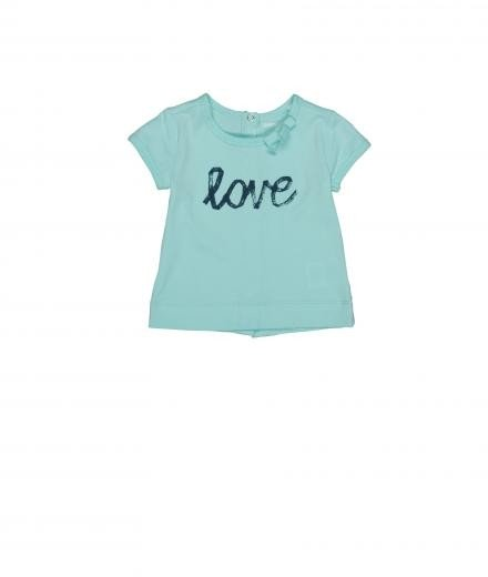 Imps & Elfs T-Shirt Love soft blue | 98