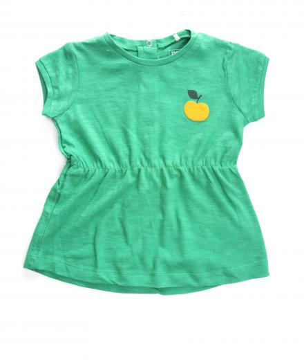 IMPS&ELFS Dress Short Sleeve Green 74
