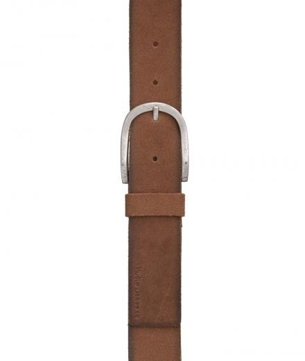 Nudie Jeans Ingesson Worn Suede Belt 85cm | brown
