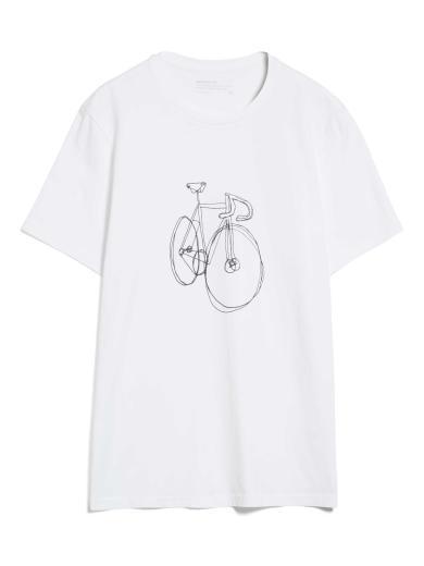 ARMEDANGELS Jaames Scribble Bike white