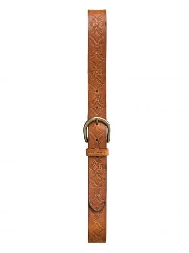 Nudie Jeans Jackson Western Belt Toffee Brown