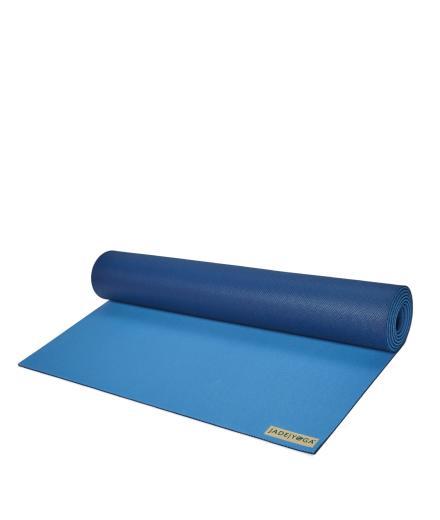 "JadeYoga TwoTone 5mm (3/16''), 180cm (71"") slate/midnight blue"