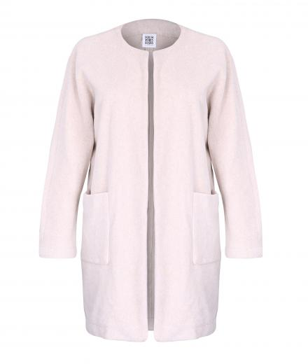 JAN 'N JUNE Long Jacket Alan Fleece nude | S