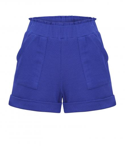 JAN 'N JUNE Shorts Rimini Piquee electric blue | XS