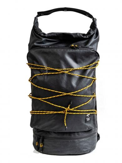 JECKYBENG The RUCKSACK waxed black