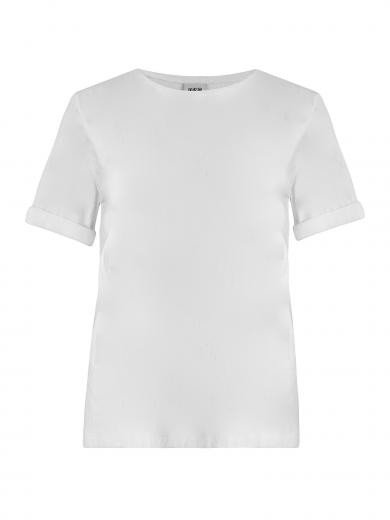 JAN 'N JUNE T-Shirt BOY plain white | S