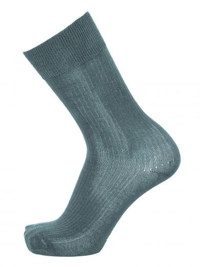 Knowledge Cotton Apparel TIMBER classic 2 pack sock Citadel | 38-42