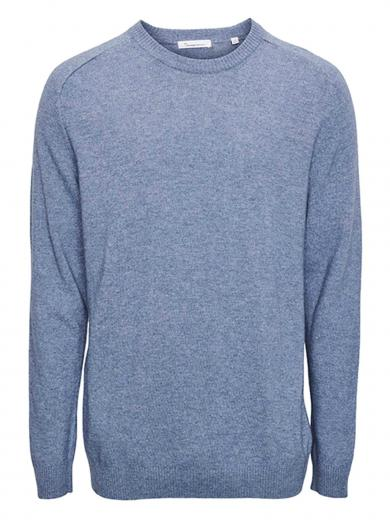 Knowledge Cotton FIELD o-neck knit