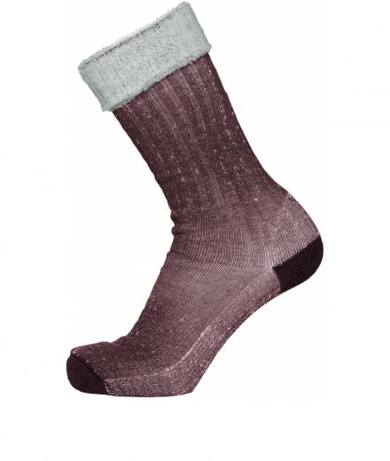 Knowledge Cotton Apparel Low Terry Socks Single Pack decadent chokolade