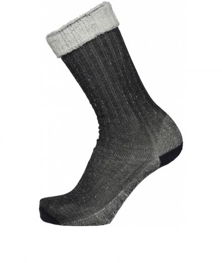 Knowledge Cotton Apparel Low Terry Socks Single Pack Phantom | 38-42