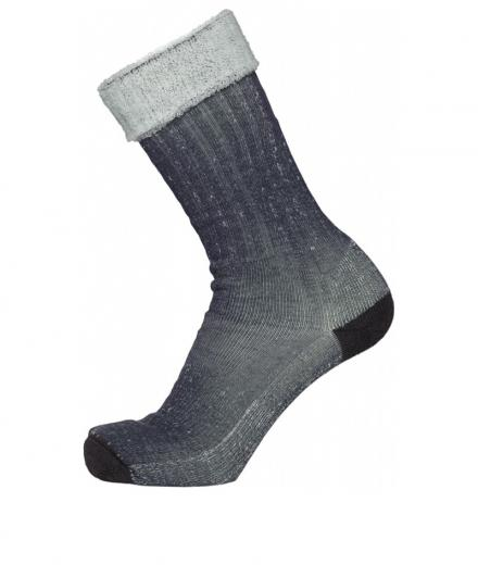 Knowledge Cotton Apparel Low Terry Socks Single Pack Total Eclipse