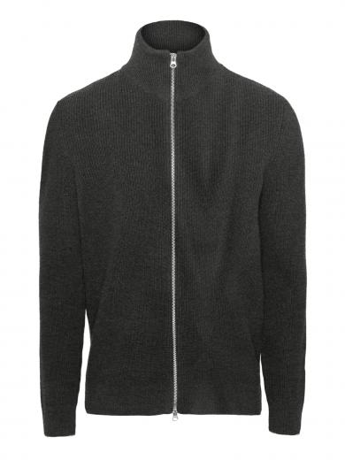 Knowledge Cotton Apparel Valley Zip Cardigan Knit