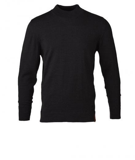 Knowledge Cotton Apparel Fine Knit W/Turtle Neck