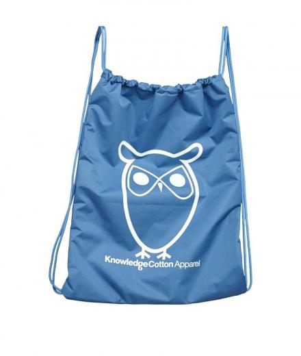 Knowledge Cotton Apparel Gym Bag deep water