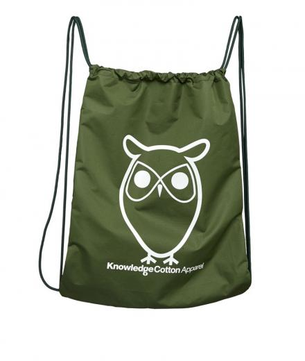 Knowledge Cotton Apparel Gym Bag