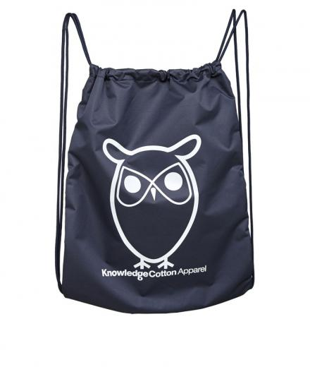 Knowledge Cotton Apparel Gym Bag Total Eclipse