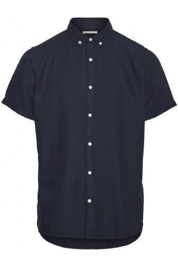 Knowledge Cotton Apparel LARCH SS tencel shirt Total Eclipse | L