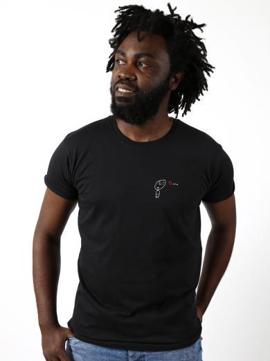 Kipepeo Clothing Herren T-Shirt Love You Schwarz