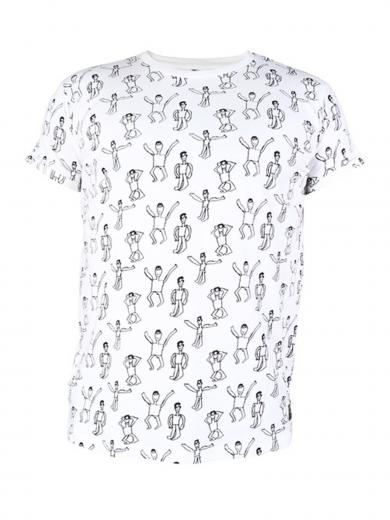 Kipepeo Clothing T-Shirt Dansi White white