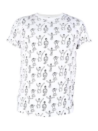 Kipepeo Clothing T-Shirt Dansi White