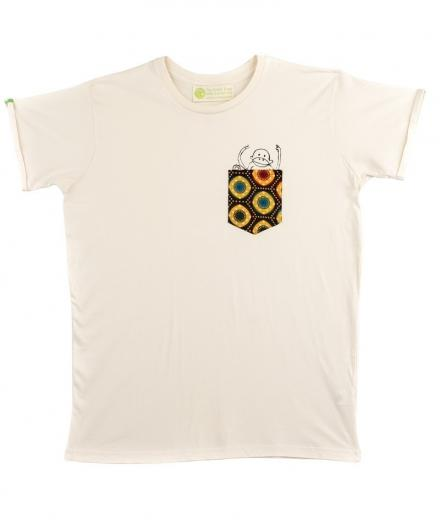 Kipepeo Clothing T-Shirt Taschentierchen Taschen-Affe natur | L