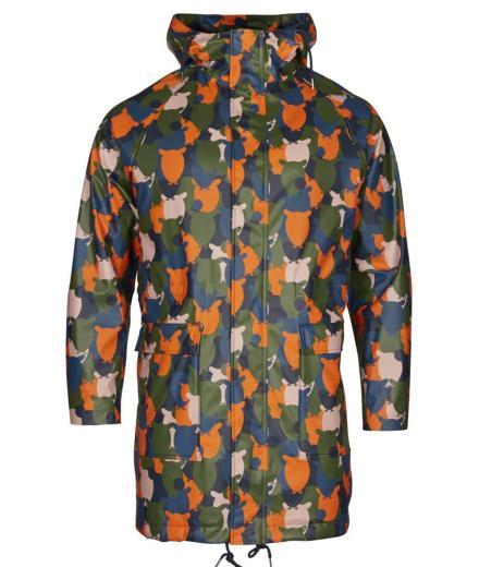 Knowledge Cotton Apparel Owl rain jacket pale mauve | M