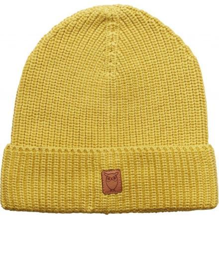 Knowledge Cotton Apparel Ribbing hat