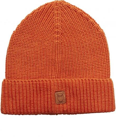 Knowledge Cotton Apparel Ribbing hat