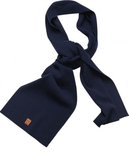 Knowledge Cotton Apparel Scarf organic wool Total Eclipse | onesize