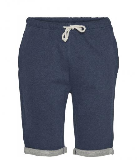 Knowledge Cotton Apparel Melange Sweat Shorts Insigna Blue melange | S
