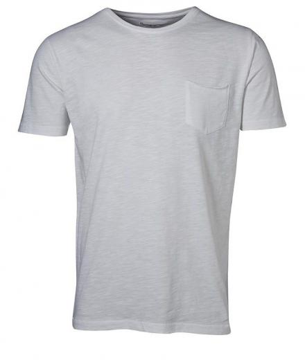 Knowledge Cotton Apparel Tee Cotton Slope - GOTS Bright White | L