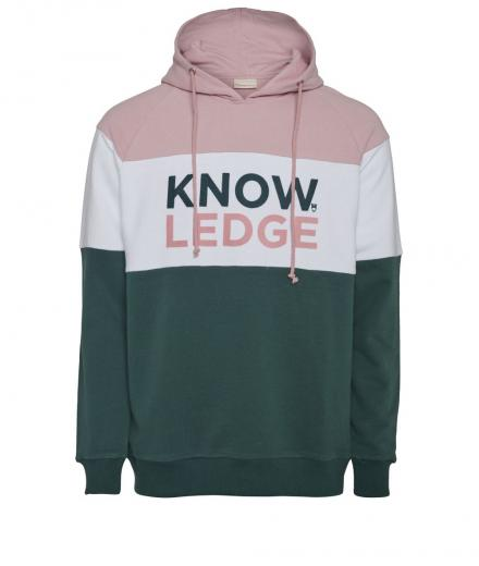 Knowledge Cotton Apparel Hood Sweat Knowledge Bistro Green | L