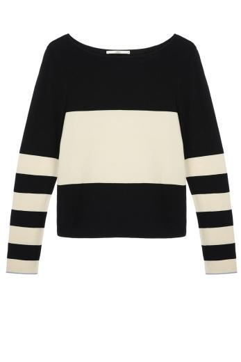 LANIUS Streifen-Pullover GOTS
