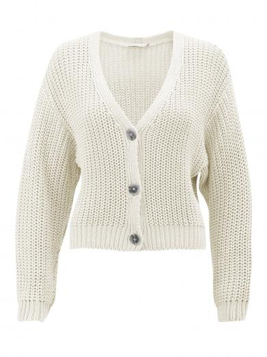 JAN 'N JUNE Knit Jacket Lena Off White