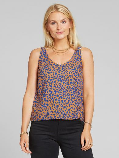 DEDICATED Tank Top Lolland Leopard