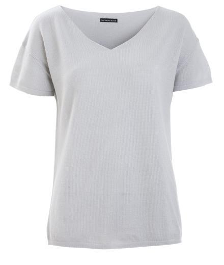 Les Racines Du Ciel Short Sleeves Sweater grey | M