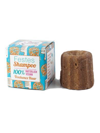 Lamazuna Festes Shampoo Orange und Arganöl - für trockenes Haar
