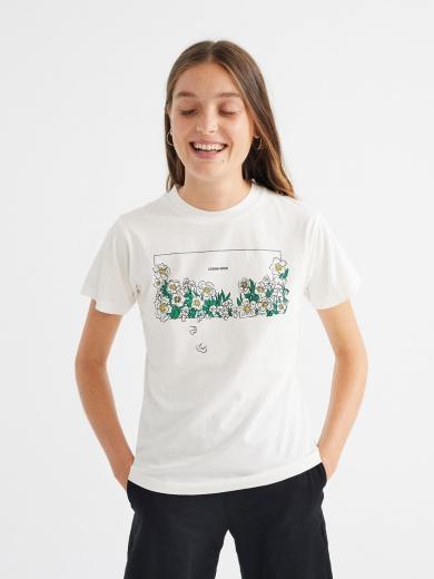 Thinking MU Losing Eden T-Shirt White