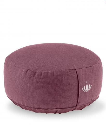Lotuscrafts Meditationskissen Lotus aubergine