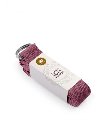 Lotuscrafts Yogagurt aubergine