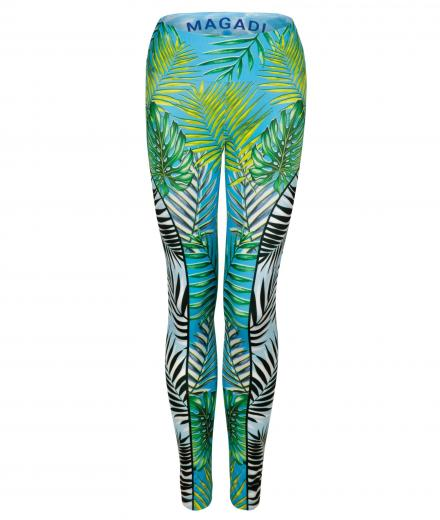 MAGADI Palm Leaf Leggings