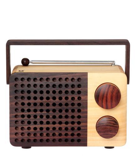 magno Wooden Radio Ikono++