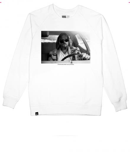 DEDICATED Sweatshirt Car Crash White