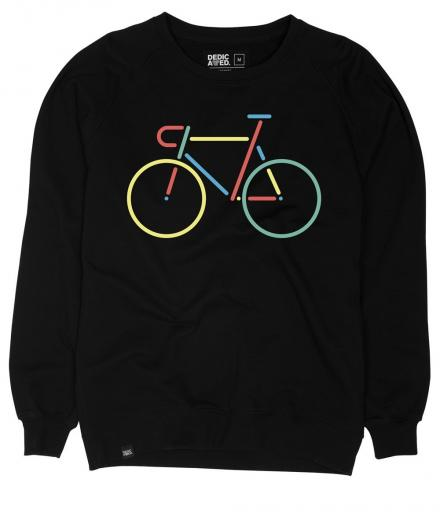 DEDICATED Malmoe Sweatshirt Color Bike black | L