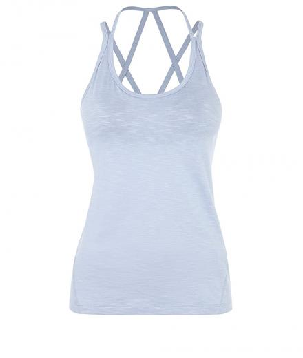 MANDALA Beach Top blue cloud | L