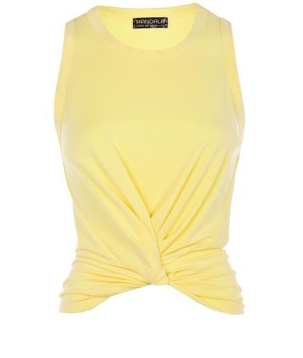 MANDALA Twisted Top light yellow | S